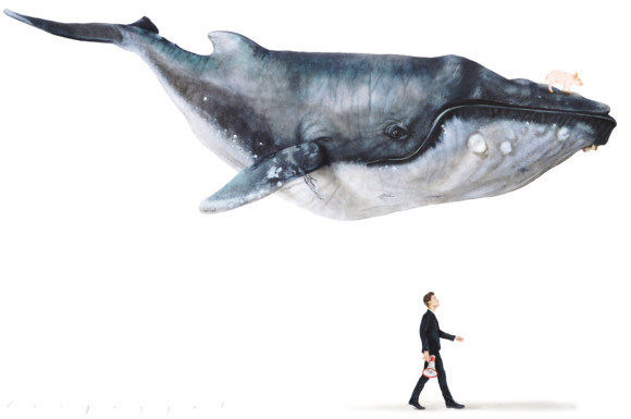 When whales can fly